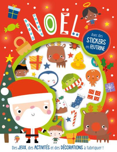 Mes stickers en feutrine Noël